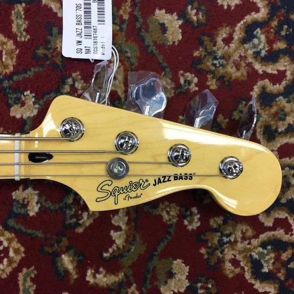 Squier Vintage Modified 70's Jazz Bass Natural